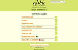 Edible BajaAZ Source Guide