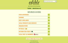 Edible BajaAZ Source Guide