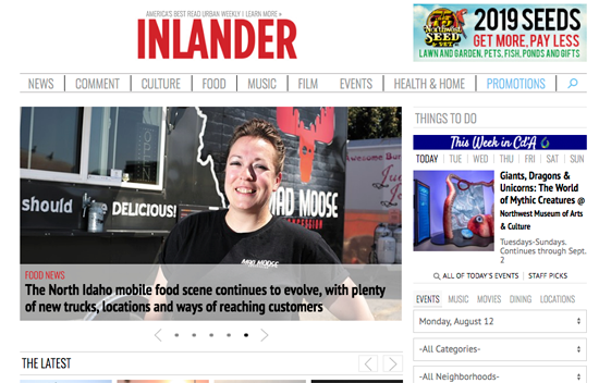 The Pacific NW Inlander (Spokane, WA)